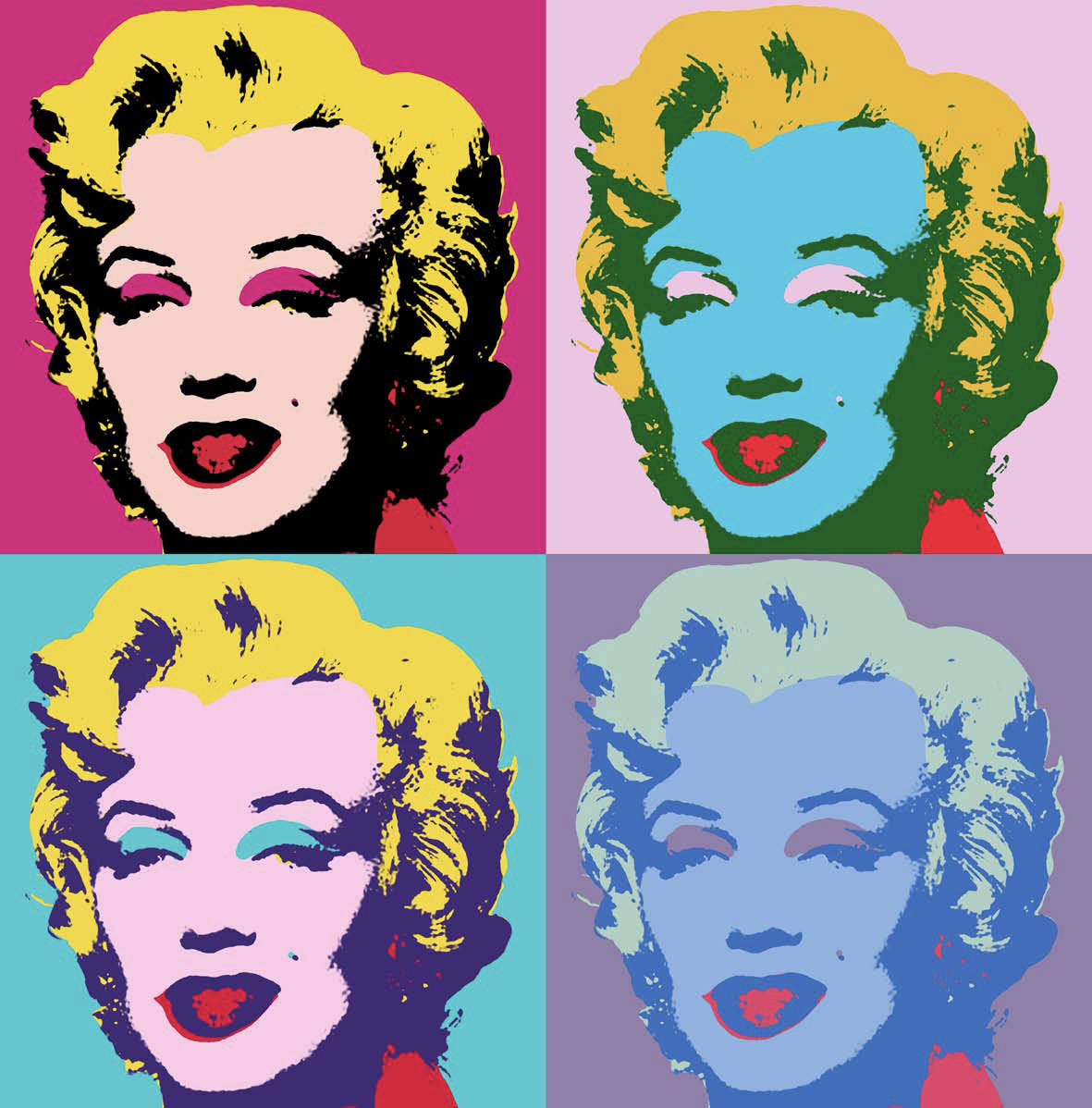 Marilyn Monroe by Andy Warhol - postmodernism art
