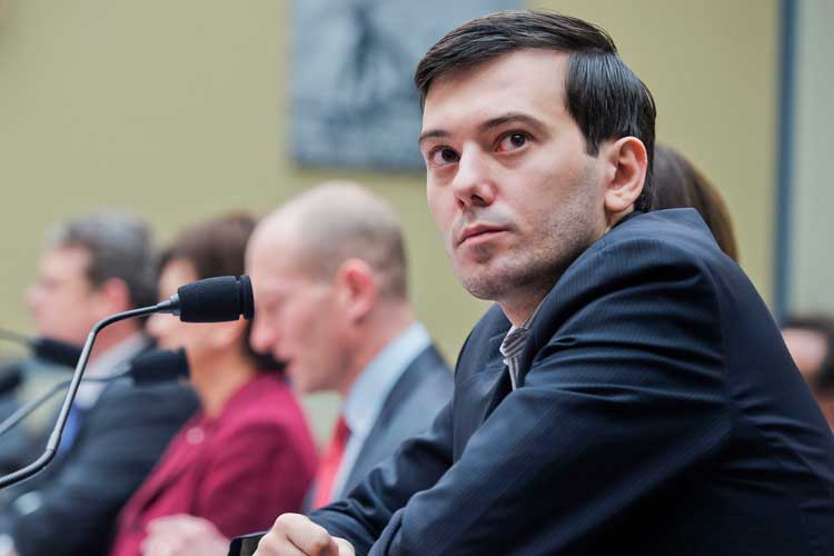 martin shkreli in court